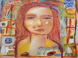 Girl with Orange Hair 2010 30x24 oil on linen