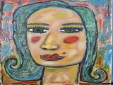 Portrait Untitled 2010 34x45 oil on linen